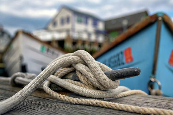 Photograph - The Docks At Port Clyde by Rick Berk