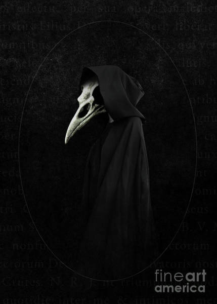 Cloak Digital Art - The Doctor by Ilona Flores