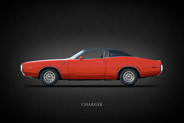 Photograph - The Dodge Charger by Mark Rogan
