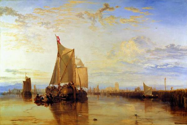 Wall Art - Painting - The Dort Packet-boat From Rotterdam - Digital Remastered Edition by William Turner