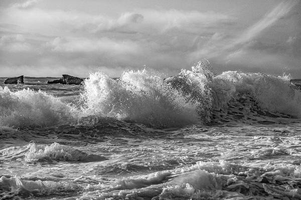 Wall Art - Photograph - The Dramatic Sea by Betsy Knapp