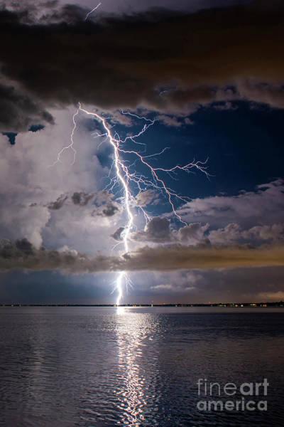 Lightning Bolt Photograph - The Dream 2 by Quinn Sedam