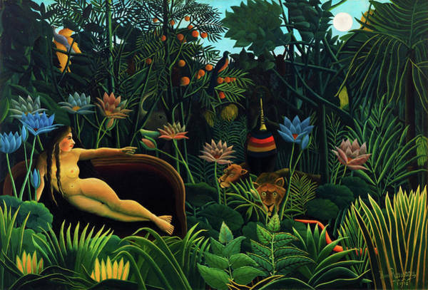 Wall Art - Painting - The Dream - Digital Remastered Edition by Henri Rousseau