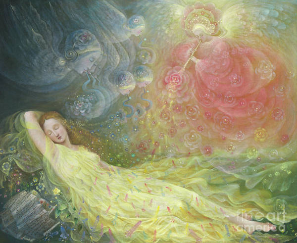 Wall Art - Painting - The Dream Of Venus by Annael Anelia Pavlova
