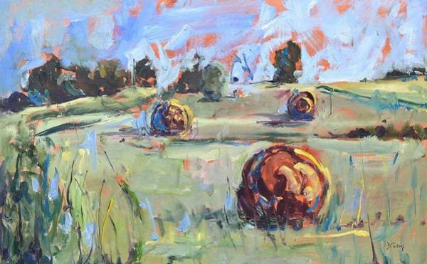 Painting - The Dreaming Fields by Donna Tuten