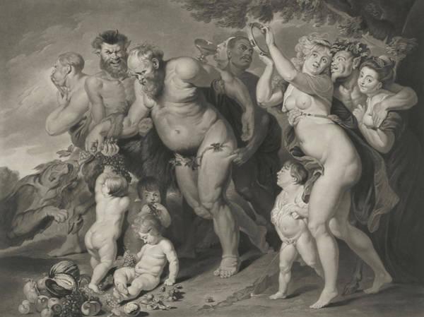 Wall Art - Painting - The Drunken Silenus by Rubens