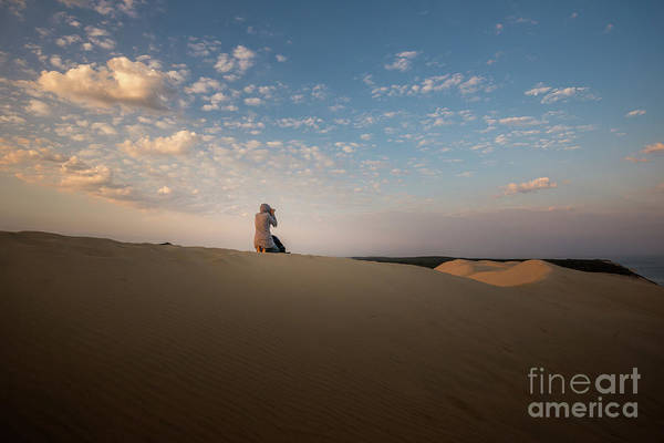 Photograph - The Dune In The Morning Light by Hannes Cmarits