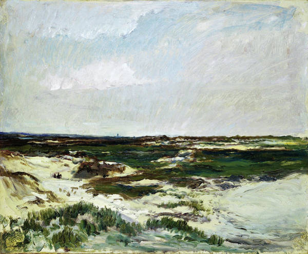 Wall Art - Painting - The Dunes At Camiers - Digital Remastered Edition by Charles-Francois Daubigny