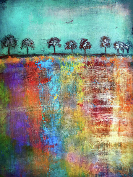 Painting - The Earth Beneath The Trees by Tara Turner