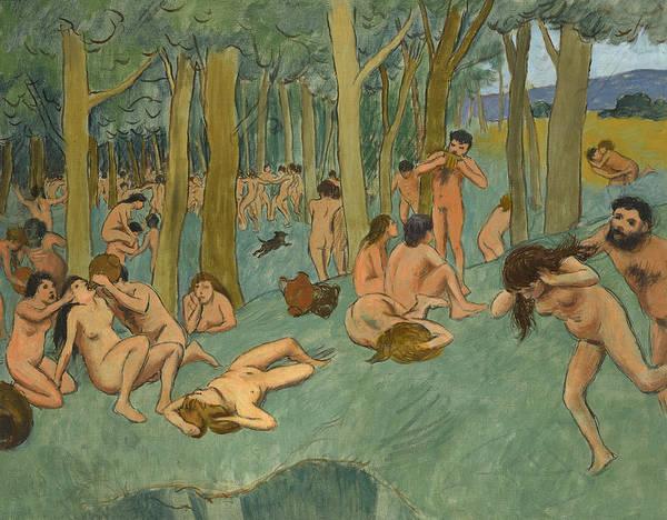 Wall Art - Painting - The Earthly Paradise by Federico Zandomeneghi
