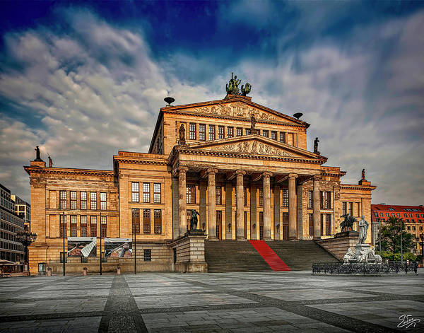 Photograph - The Eastern Berlin Opera House by Endre Balogh