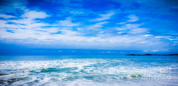 Wall Art - Photograph - The Edge Of Blue by Mathew Barker