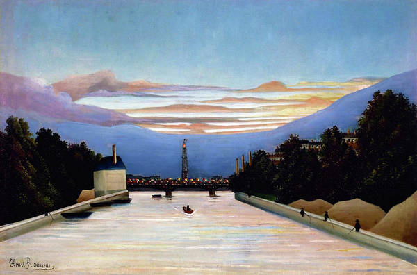 Henri Wall Art - Painting - The Eiffel Tower - Digital Remastered Edition by Henri Rousseau