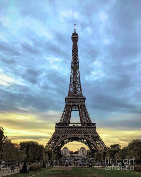 Photograph - The Eiffel Tower - Paris by Luther Fine Art