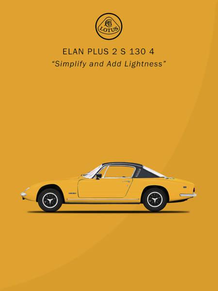 Photograph - The Elan Plus 2 by Mark Rogan