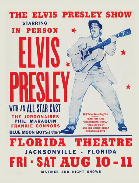 Wall Art - Photograph - The Elvis Presley Show 1957 by Daniel Hagerman