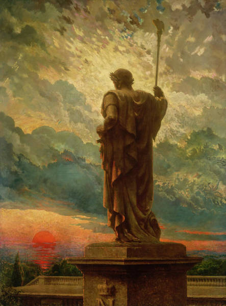 Wall Art - Painting - The Emperor, 1912 by James Carroll Beckwith