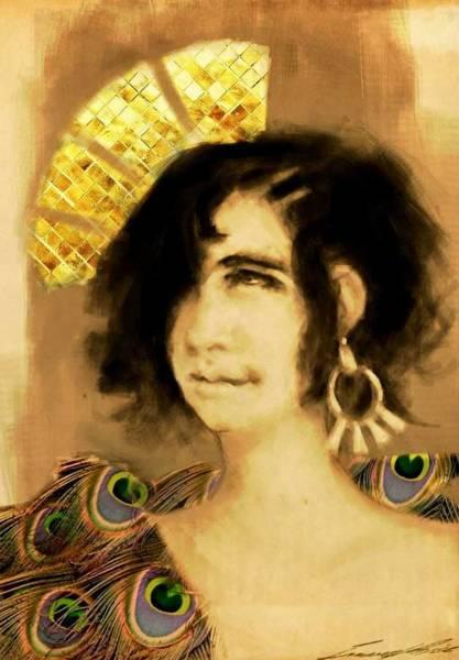 Wall Art - Digital Art - The Empress by Immanuel Price