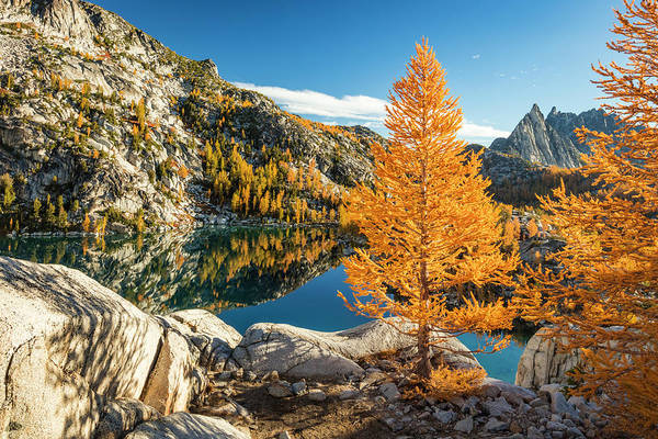 Wall Art - Photograph - The Enchantments by Johnny Adolphson