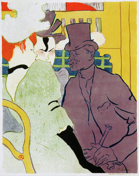 Wall Art - Painting - The Englishman At The Moulin Rouge - Digital Remastered Edition by Henri de Toulouse-Lautrec