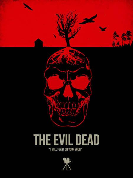 Evil Wall Art - Digital Art - The Evil Dead by Naxart Studio