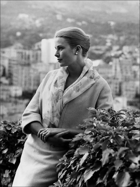 Princess Grace Photograph - The Exhibition Of Princess Grace Of by Alain Benainous