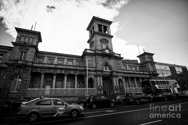 Wall Art - Photograph - the exterior of connolly station Dublin Republic of Ireland europe by Joe Fox