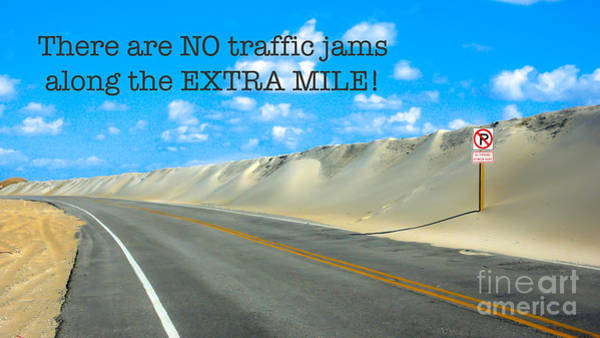 Coastal Highway Wall Art - Photograph - The Extra Mile by DiFigiano Photography