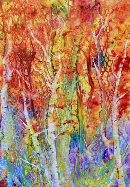 Painting - The Fabric Of Nature by Beverley Harper Tinsley