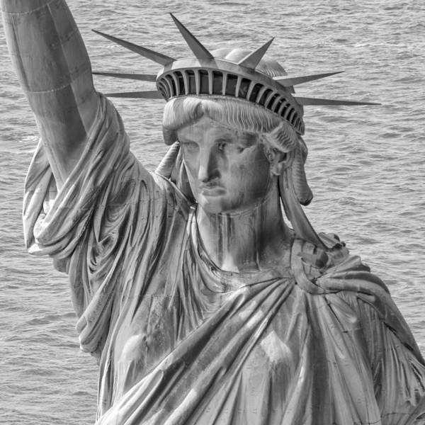 Photograph - The Face Of Liberty by Rand