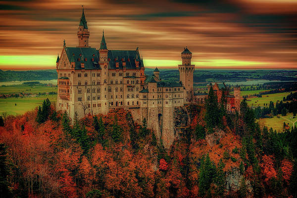 Wall Art - Photograph - The Fairytale Castle by Pixabay