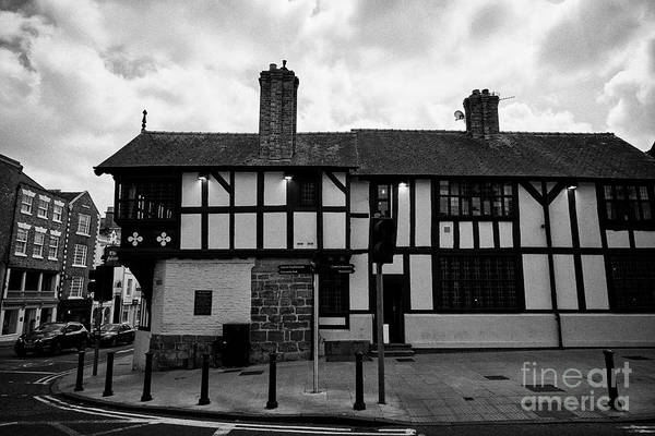 Wall Art - Photograph - The Falcon Pub Public House In Chester Cheshire England Uk by Joe Fox