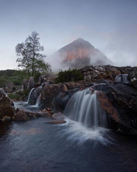 Photograph - The Famous Falls In Glencoe by Stephen Taylor
