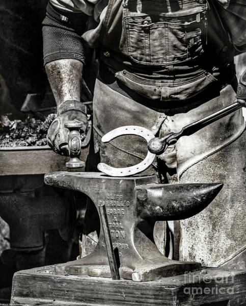 Farrier Photograph - The Farrier by Mitch Shindelbower