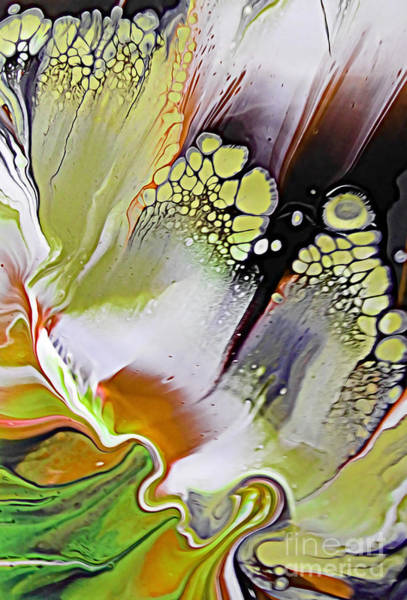 Wall Art - Painting - The Feathered Effect by Trudee Hunter