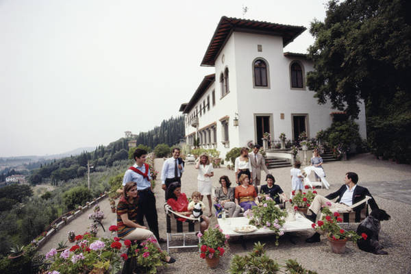 Family Photograph - The Ferragamo Family by Slim Aarons