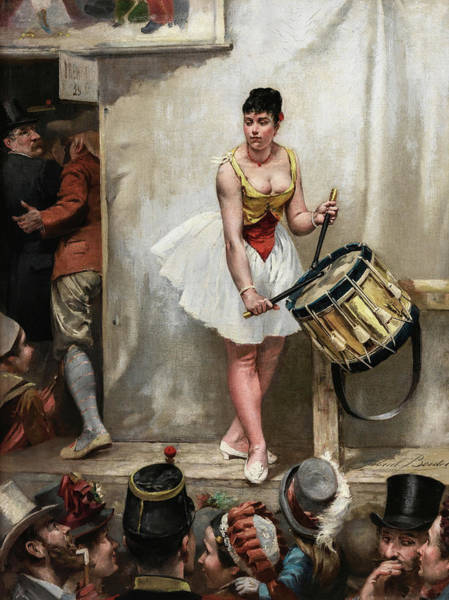 Wall Art - Painting - The Festival Of Montrouge, 19th Century by Gabriel Boutet