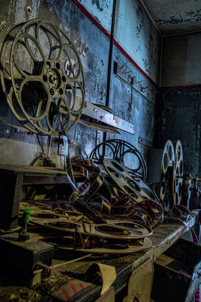 Photograph - The Film Room 2 by Kristia Adams