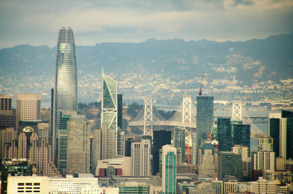 Photograph - The Financial District - San Francisco by Bill Cannon