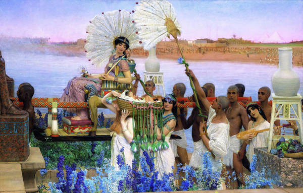 Wall Art - Painting - The Finding Of Moses - Digital Remastered Edition by Lawrence Alma-Tadema