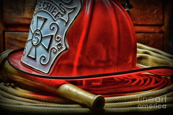 Wall Art - Photograph - The Fire Chief by Paul Ward