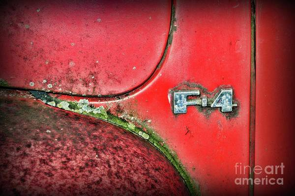 Wall Art - Photograph - The First-generation Ford F-series  by Paul Ward