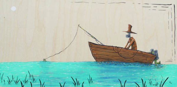 Wall Art - Painting - The Fisherman by Chase Fleischman