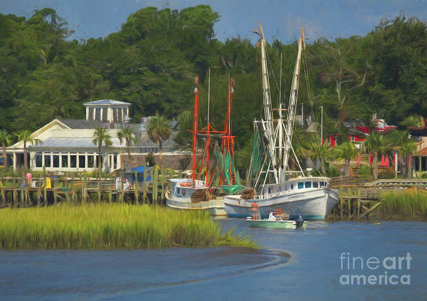 Wall Art - Photograph - The Fishing Village by Michelle Tinger