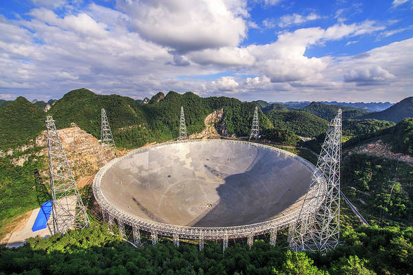 Photograph - The Five-hundred-meter Aperture by Jeff Dai