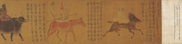 Wall Art - Painting - The Five Planets And Twenty Eight Constellations  by Attributed to Zhang Sengyao