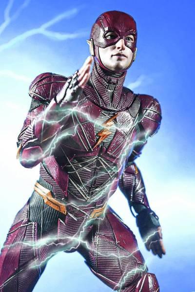 Digital Art - The Flash by Jeremy Guerin