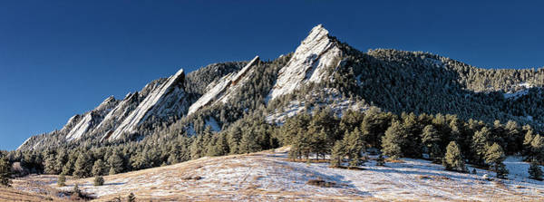 Wall Art - Photograph - The Flatirons - #1 by Stephen Stookey