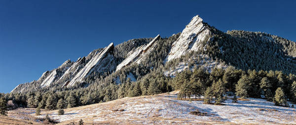 Wall Art - Photograph - The Flatirons - #2 by Stephen Stookey