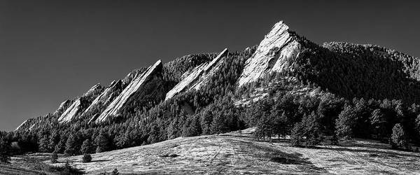 Wall Art - Photograph - The Flatirons - #3 by Stephen Stookey